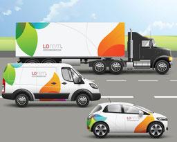 Fahrzeug Design Beschriftung Fahnert Waldbröl