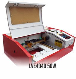 MINI laser cortadora  grabadora 50W, K40