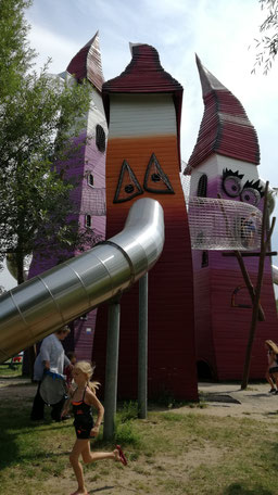 Abenteuerspielplatz Irrlandia in Storkow