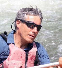 Yves fondateur d'Explo grimpeur kayakiste et canyoneur toujours prêt pour partir dans la nature