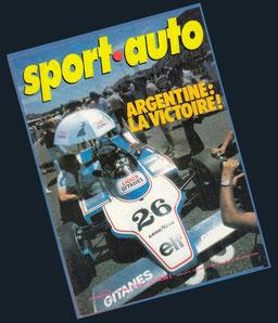 Jacques Laffite en Sport Auto