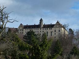 Schloss Heiligenberg (Bild: Hans, pixabay.com).