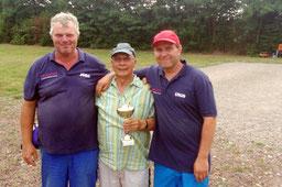 v.l. Jörg, Klaus, Ingo