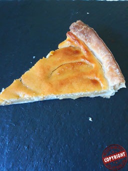 tarte aux pommes normande sans gluten sans lactose