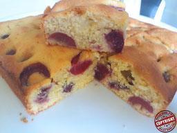 gâteau amande cerise sans gluten sans lactose