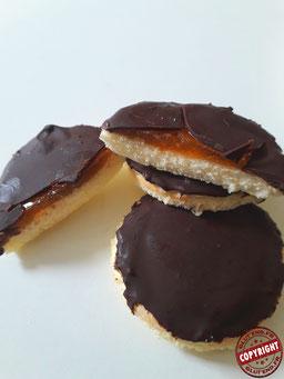 jaffa cake abricot maison sans gluten sans lactose