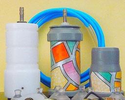 Kit accessori del SOTTOVUOTOMANUALE da collegare ad una macchina o pompa per sottovuoto consente di conservare in barattoli e bottiglie di vetro e in bottiglie di plastica alimenti freschi, secchi ed anche liquidi