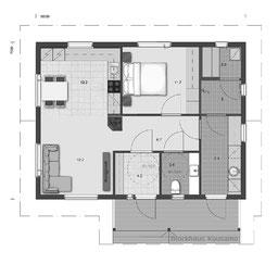 Typenhaus - Singlehaus - Holzhaus - Wohnhaus - Entwurfsplanung - Planung - Minden - Holzminden - Niedersachsen - Hannover - Zimmerei - Planung - Hausplanung - Hausbau - Holzbau - Ökologisch Bauen - Seniorenhaus - Ökohaus - Architektenhaus - Musterhaus