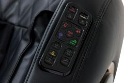 Massagesessel Kenwood in schwarz mit USB-Anschluss