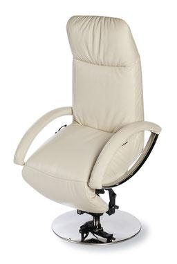 Strässe Sessel Dogo Leder schwarz günstig