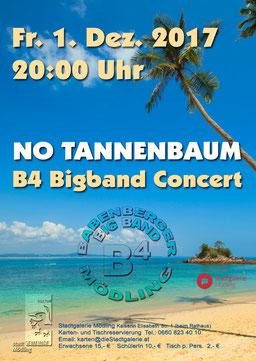 B4 Big Band Mödling No Tannenbaum - Stadtgalerie Möding