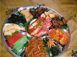 おせち料理(要予約)写真は5人前10000円