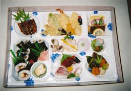 冠婚葬祭用のお弁当例 2500~3500円/一人前