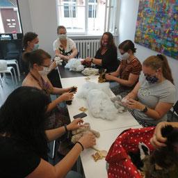 kreativer Workshop für Erwachsene