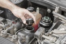 Motorkontrolle - Fahrzeug-Check