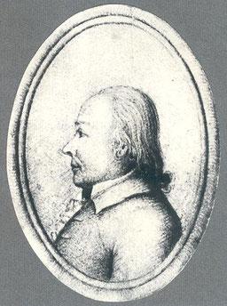Carl Friedrich Simon Fintelmann (* 6. Januar 1738 in Senzke; † 23. November 1811 auf der Pfaueninsel bei Potsdam) - Königlicher Hofgärtner in Charlottenburg