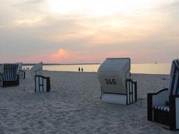 Strandkörbe am Nordstrand