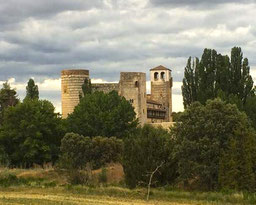 castillo de castilnovo en Segovia