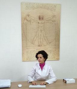 Maribella Sanchis Sanchis, nutricionista en Cáceres