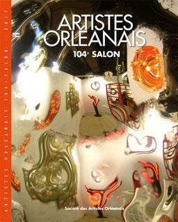 Claude Rossignol - Affiche 104è Salon des Artistes Orléanais 2011