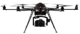 Flugdrohnen für Luftbildaufnahmen