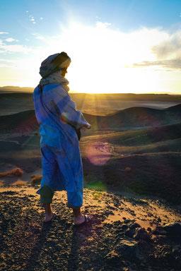 trek aventure désert maroc