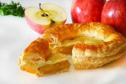 吹割りんごの手作りアップルパイ