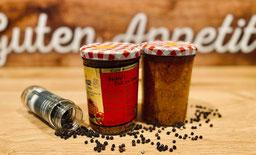 Wurst im Glas - Currywurst - Fleischerei Bechtel