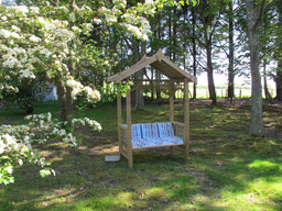 Pagode de jarin chambres d'hôtes de Ker Holen à Saint-Lyphard