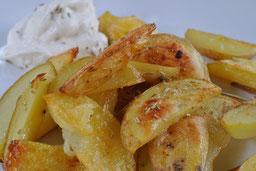Back-Kartoffelschnitze: Schnell und einfach selbst herstellen