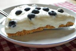 Kuchen ohne backen mit Skyr