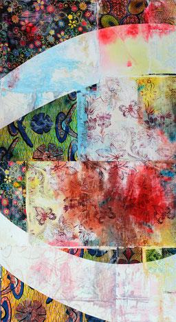 Les couleurs et la magie que révèle l'eau. Libre de ses mouvement et de ses désirs l'eau inscrit ses aspirations dans les peinture de Laurent Valera
