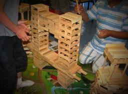 jeux de construction, assemblage, jeux en bois, jeux de coopération