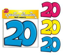 Stickers anniversaire