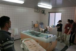 長野県内の老健施設見学