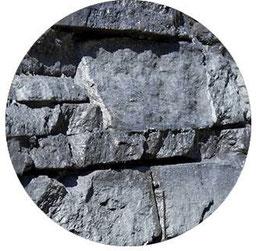 Detailaufnahme - Steinpaneel M-122 Lajastein Dark Sand