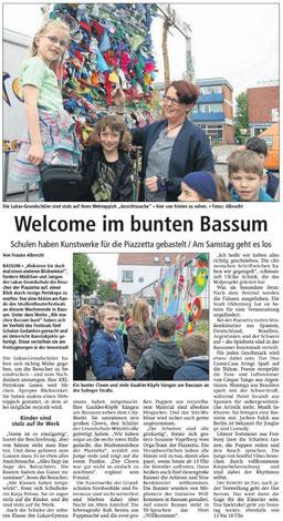 Kreiszeitung 28. Mai 2016