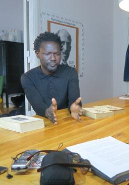 Dr. Ibou Coulibaly in Berlin - Fotos: Peter Heller, Filmkraft