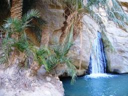 Oasis de montaña en el Atlas