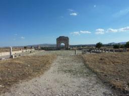 Ciudad arqueológica de Makthar