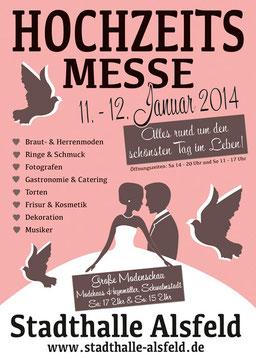 Hochzeitsmesse in der Stadthalle Alsfeld