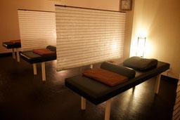 広々とセパレートされたベッドスペースだから気持ちまでもゆったりできます。
