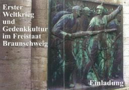 Ausstellung Erster Weltkrieg und Gedenkkultur