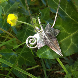 Ivy Leaf Leaves Jewellery Collection