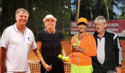2. Platz C. Steinmetz/H. Roschke Petersen  1. Platz R. Porombka/H. Schulze