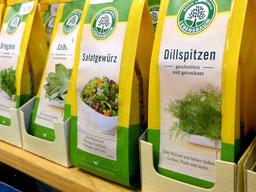 Biogewürze und Brotaufstriche