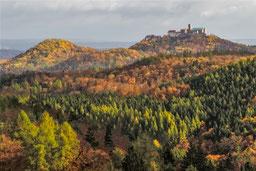 Wartburg Thüringer Wald Eisenach Herbst