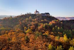 Wartburg Eisenach Metilstein Herbst Wald