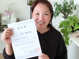 セラピスト養成スクール 東京リラックセーションアカデミー全身リンパオイルトリートメントコース卒業生 花谷さん