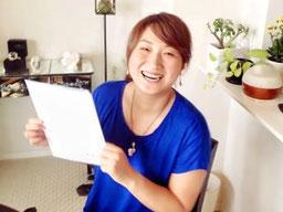 セラピスト養成スクール 東京リラックセーションアカデミーリンパセラピストコース卒業生 三浦さん